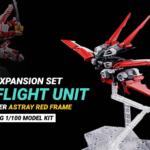 Expansion Set Flight Unit MG 1/100 per Astray Red Frame