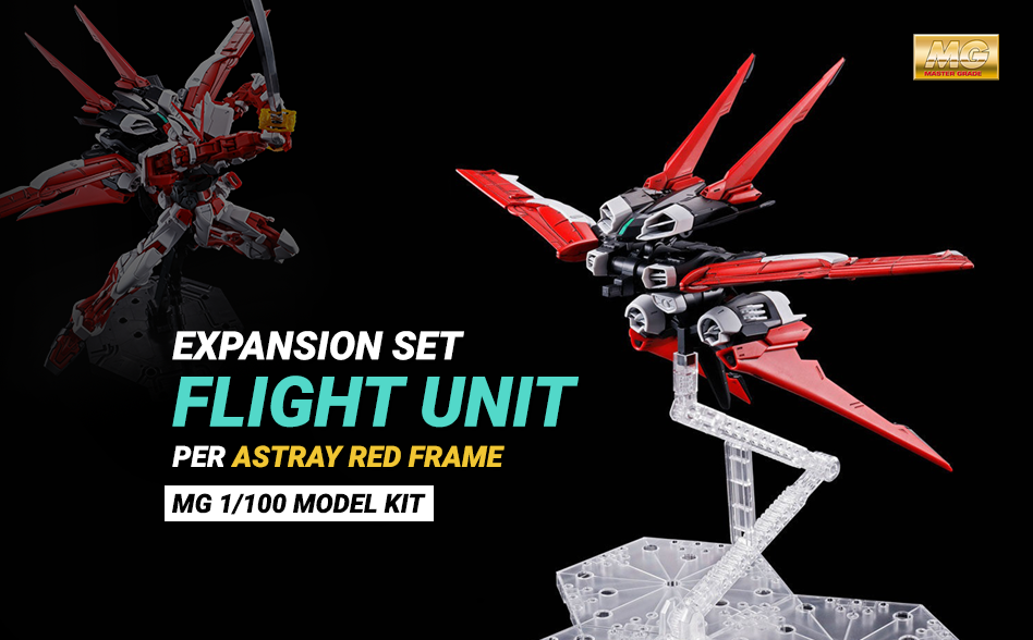 Expansion Set Flight Unit MG 1/100 per Astray Red Frame