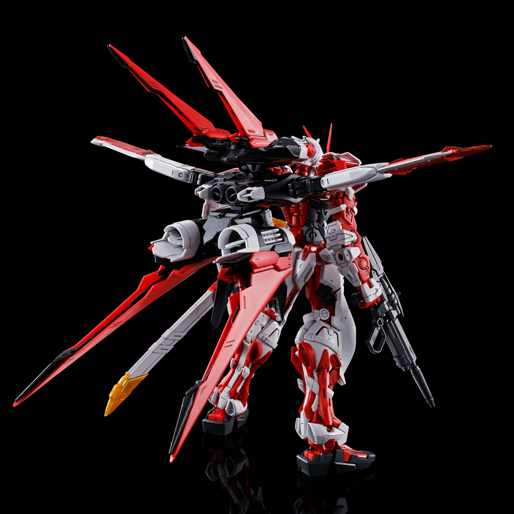 gunpla Astray Red Frame Flight Unit back