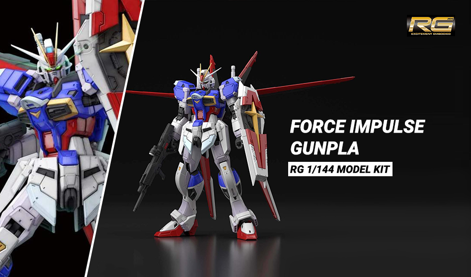 Uscita Force Impulse Gundam RG 1/144 Model Kit