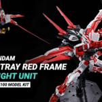 Preordine MG 1/100 Gundam Astray Red Frame Flight Unit