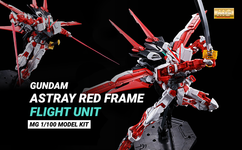 Preordine MG 1/100 Gundam Astray Red Frame Flight Unit