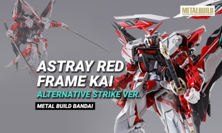 Metal Build Astray Red Frame Kai (Alternative Strike ver.)