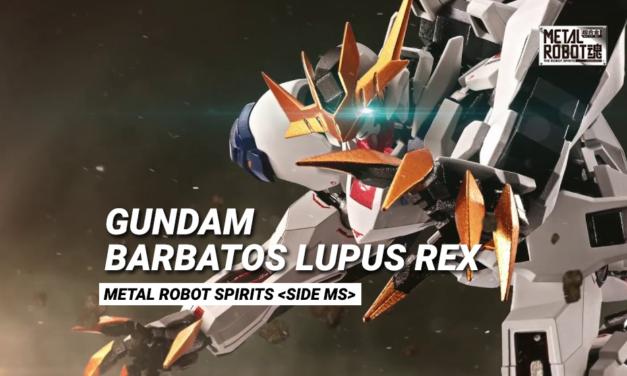 Gundam Barbatos Lupus Rex – Metal robot spirits – Com'è?