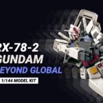 RX-78-2 Gundam Beyond Global by Kunio Okawara