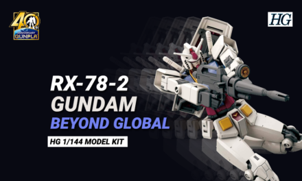 RX-78-2 Gundam Beyond Global by Kunio Okawara