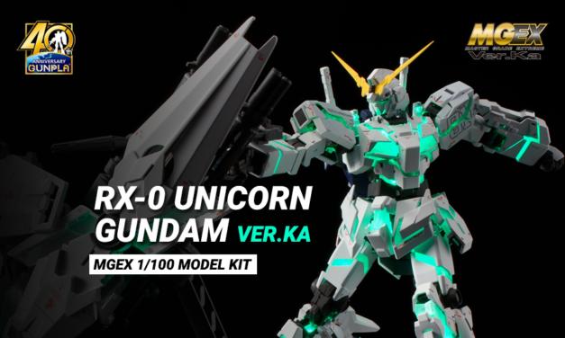 Unicorn Gundam ver.Ka MGEX…pensive??