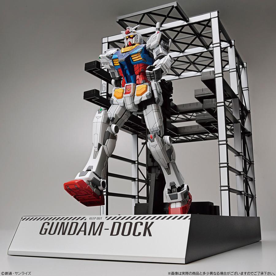 1/144 Gundam dock gunpla