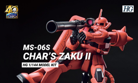 Char's Zaku II HG 1/144 – 40th Anniversary