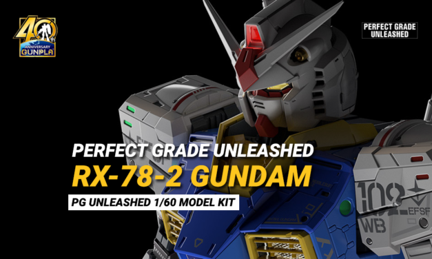 Perfect Grade Unleashed RX-78-2 Gundam
