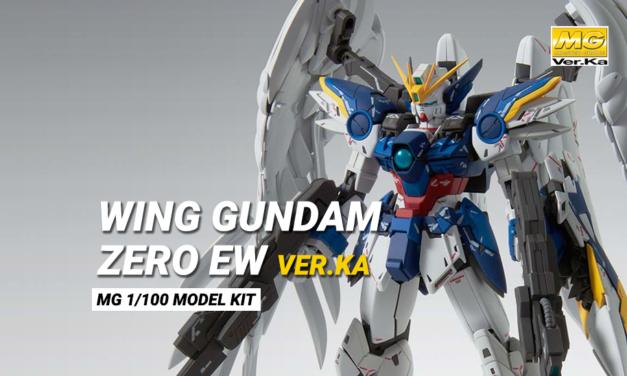 Wing Gundam Zero EW ver. ka MG 1/100 – Preordine
