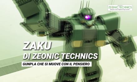 Il Gunpla di Zeonic Technics che si muove con il pensiero