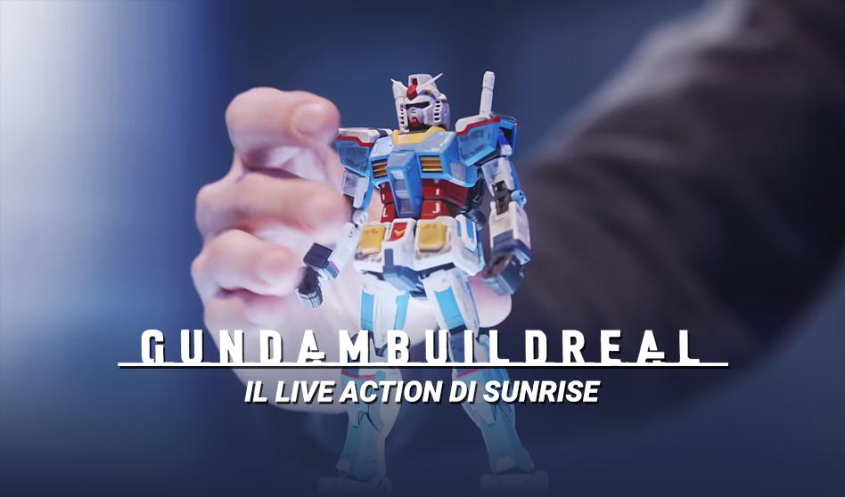 Gundam Build Real il Live Action di Sunrise